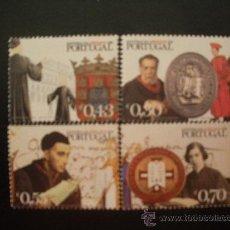 Timbres: .PORTUGAL 2003 IVERT 2658/61 *** HISTORIA DE LOS ABOGADOS DE PORTUGAL. Lote 28017531
