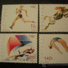 Sellos: PORTUGAL 2000 IVERT 2437/40 *** JUEGOS OLIMPICOS DE SYDNEY - DEPORTES. Lote 28024866