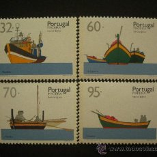 Sellos: PORTUGAL MADEIRA 1990 IVERT 146/9 *** BARCOS TIPICOS (I). Lote 30871950