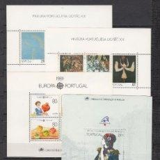 Sellos: PORTUGAL 1750/83, HB64/9 SIN CHARNELA, AÑO 1989 VALOR CAT 141 EUROS +. Lote 32553844