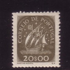 Sellos: PORTUGAL 643*** AÑO 1943 - BARCOS - CARABELA. Lote 32870349