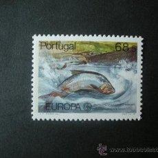Sellos: PORTUGAL 1986 IVERT 1667 *** EUROPA - PROTECCIÓN DE LA NATURALEZA Y DEL ENTORNO - FAUNA MARINA. Lote 33880627