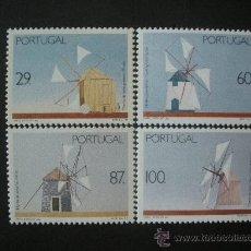 Sellos: PORTUGAL 1989 IVERT 1770/3 *** MOLINOS DE VIENTO . Lote 34084251