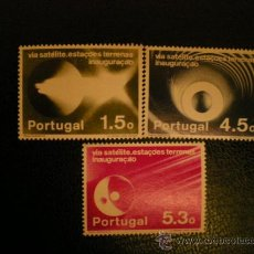 Sellos: PORTUGAL 1974 IVERT 1214/6 *** COMUNICACIONES POR SATELITE . Lote 34819043