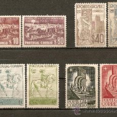 Sellos: PORTUGAL YVERT NUM. 608/15 SERIE COMPLETA SIN GOMA. Lote 35001547