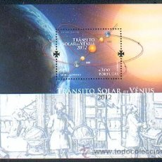 Sellos: PORTUGAL & TRANSITO SOLAR DE VENUS ** (2012). Lote 35237153