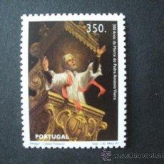 Sellos: PORTUGAL 1997 IVERT 2174 *** 300º ANIVERSARIO MUERTE SACERDOTE PEDRO ANTONIO VIEIRA - RELIGIÓN. Lote 35558390