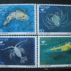 Sellos: PORTUGAL 1997 IVERT 2196/9 *** FAUNA MARINA - EXPO-98 - EXPOSICIÓN MUNDIAL DE LISBOA . Lote 35558584