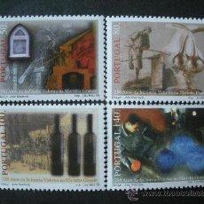 Sellos: PORTUGAL 1998 IVERT 2267/70 *** 250º ANIVERSARIO INDUSTRIA VIDRIERA DE MARINHA GRANDE . Lote 35581310