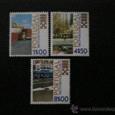 Sellos: PORTUGAL 1972 IVERT 1153/5 *** XIII CONGRESO MUNDIAL UNIÓN INTERNACIONAL TRANSPORTES EN ESTORIL . Lote 35770580
