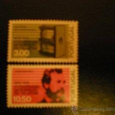 Sellos: PORTUGAL 1976 IVERT 1287/8 *** CENTENARIO DEL TELEFONO EN PORTUGAL . Lote 35770627