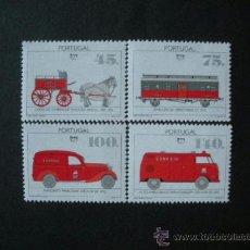 Sellos: PORTUGAL 1994 IVERT 2022/5 *** VEHICULOS DE TRANSPORTE POSTAL - AUTOMOVILES - SERIE DE LA U.P.A.E.P.. Lote 36599413
