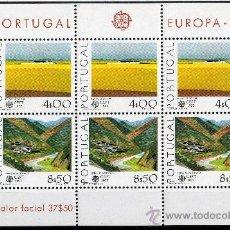 Sellos: PORTUGAL AÑO 1977 YV HB 20*** EUROPA - VISTAS Y PAISAJES. Lote 37875684