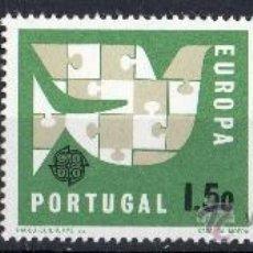 Sellos: PORTUGAL AÑO 1963 YV 929/31*** EUROPA - PALOMA DE LA PAZ - AVES. Lote 37875923