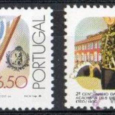 Sellos: PORTUGAL AÑO 1980 YV 1488/89*** BICENTº ACADEMIA DE CIENCIAS DE LISBOA - CIENCIA Y TÉCNICA. Lote 37876069
