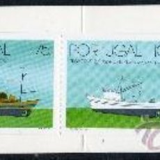 Sellos: PORTUGAL AÑO 1994 YV 2010/13*** CARNET - BARCOS DE ARRASTRE DE PESCA PORTUGUESES (II) - TRANSPORTES. Lote 37876580