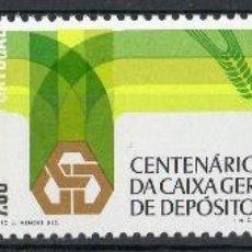 Sellos: PORTUGAL AÑO 1976 YV 1312/14*** CENTº DE LA CAJA GENERAL DE DEPÓSITOS - BANCA. Lote 39393997