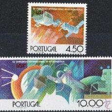 Sellos: PORTUGAL AÑO 1975 YV 1271/74*** CONGRESO INTERNACIONAL DE ASTRONÁUTICA. Lote 39410957
