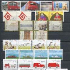 Sellos: AÑO COMPLETO PORTUGAL 1994 (SERIES + HB) EN NUEVO **. Lote 42790100