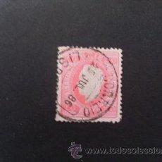 Sellos: PORTUGAL,1884,D.LUIS I,FITA DIREITA,AFINSA 66,SCOTT 40,DENT.11 1/2,PAPEL PORCELANA,USADO. Lote 42891939