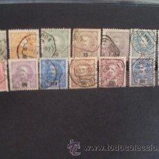 Sellos: PORTUGAL,1895,D.CARLOS I,AFINSA 126-139,YVERT 124-127,129-130,132,135,137-138,141,143-145,COMPLETA. Lote 43240544