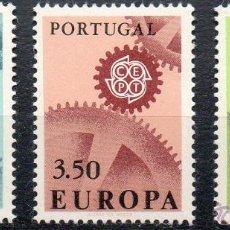 Sellos: PORTUGAL AÑO 1967 YV 1007/09 EUROPA. Lote 43684607