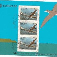 Sellos: PORTUGAL & EUROPA, MADEIRA 1986 (86). Lote 43734682