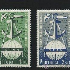 Sellos: PORTUGAL YVERT Nº 760/61 *. Lote 44084049