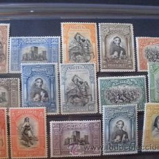 Sellos: PORTUGAL,1927,INDEPENDENCIA 2ª EMISION,,AFINSA 420-444,YVERT 438-452,SCOTT 422-436,NUEVOS,FIJASELLOS. Lote 44833101