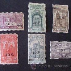 Sellos: PORTUGAL,1933,7º CENT.S.ANTONIO,SOBRECARGA,AFINSA 554-559*,YVERT 565-570*,SCOTT 543-548*,FIJASELLOS. Lote 44858146