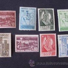 Sellos: PORTUGAL,1940,CENT.FUNDACIÓN-RESTAURACIÓN,AFINSA 591-598*,YVERT 608-615*,SCOTT 587-594*,NUEVO,FIJASE. Lote 45013422