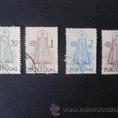 Sellos: PORTUGAL,1950,AÑO SANTO,AFINSA 719-722,YVERT 730-733,SCOTT 717-720,COMPLETA,USADOS. Lote 45554398