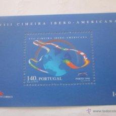 Sellos: SELLOS PORTUGAL HB CUMBRE IBEROAMERICANA. AÑO 1998. NUEVO. Lote 48394804