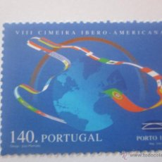 Sellos: SELLOS PORTUGAL CUMBRE IBEROAMERICANA. AÑO 1998. NUEVO. Lote 48394902