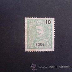 Sellos: CONGO PORTUGUÉS,PORTUGAL,1898-1901,D.CARLOS I,AFINSA E YVERT 16, SCOTT 15,NUEVO SIN GOMA. Lote 48715312