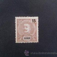 Sellos: CONGO PORTUGUÉS,PORTUGAL,1898-1901,D.CARLOS I,AFINSA E YVERT 17,SCOTT 16,NUEVO CON ALGO DE GOMA. Lote 48715402