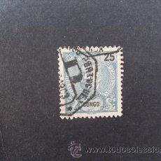 Sellos: CONGO PORTUGUÉS,PORTUGAL,1898-1901,D.CARLOS I,AFINSA,YVERT Y SCOTT 19,USADO. Lote 48715895