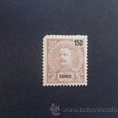 Sellos: CONGO PORTUGUÉS,PORTUGAL,1898-1901,D.CARLOS I,AFINSA E YVERT 24 Y SCOTT 30,NUEVO SIN GOMA,MARQUILLA. Lote 48719022
