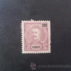 Sellos: CONGO PORTUGUÉS,PORTUGAL,1898-1901,D.CARLOS I,AFINSA E YVERT 25,SCOTT 31,NUEVO,FIJASELLO. Lote 48719157