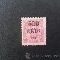 Sellos: CONGO PORTUGUÉS,1902,D.CARLOS I,CON SOBRECARGA,AFINSA 39*,YVERT 40*,SCOTT 46*,DENT. 11 1/2,FIJASELLO. Lote 48719575