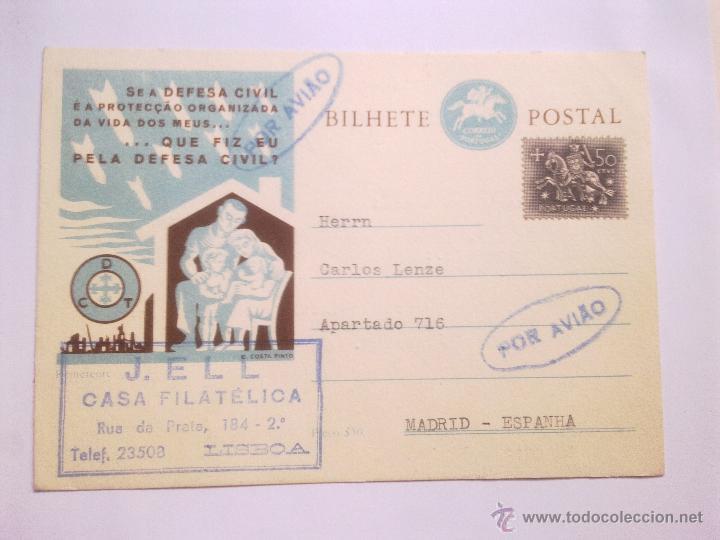 BILHETE POSTAL - (Sellos - Extranjero - Europa - Portugal)
