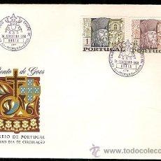 Sellos: PORTUGAL & FDC CENTENÁRIO DO NASCIMENTO DE BENTO DE GOES, HORTA 1968 (1020). Lote 52125032