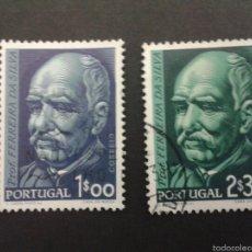 Sellos: SELLOS DE PORTUGAL. YVERT 829/30. SERIE COMPLETA USADA.. Lote 52472524