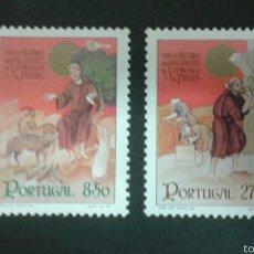 Sellos: SELLOS DE PORTUGAL. YVERT 1520/1. SERIE COMPLETA NUEVA. SAN ANTONIO DE ASÍS. Lote 52543261