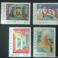 Sellos: SELLOS DE PORTUGAL.DIBUJOS INFANTILES. YVERT 1364/7. SERIE COMPLETA NUEVA. NAVIDAD. Lote 52543291