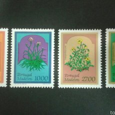Sellos: SELLOS DE MADEIRA ( PORTUGAL ) FLORA. YVERT 83/6. SERIE COMPLETA NUEVA SIN CHARNELA.. Lote 52566173