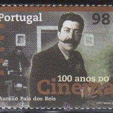 Sellos: PORTUGAL IVERT 2115, CENTENARIO DEL CINE: CINESTAS PORTUGUESES: AURELIO PAIS DE REIS, NUEVO ***. Lote 52705008