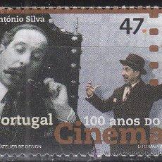 Sellos: PORTUGAL IVERT 2112, CENTENARIO DEL CINE: CINESTAS PORTUGUESES: ANTONIO SILVA, NUEVO ***. Lote 52705069