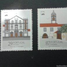 Sellos: SELLOS DE MADEIRA (PORTUGAL ). EUROPA CEPT. YVERT 134/5. SERIE COMPLETA NUEVA SIN CHARNELA.. Lote 52740239
