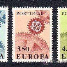 Sellos: PORTUGAL 1967 BONITA SERIE EUROPA NUEVO LUJO MNH ***. Lote 53050879